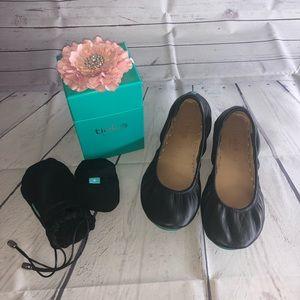 tieks by Gavrieli Black Ballet Flats Size 8